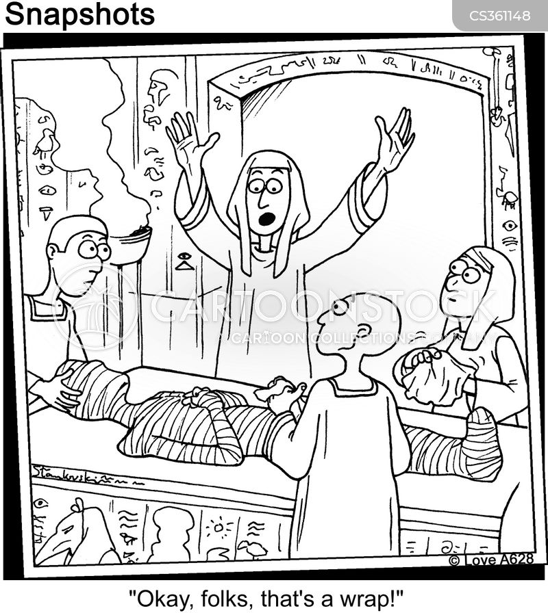 embalmed cartoon