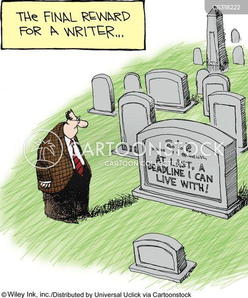 rest in peace cartoon