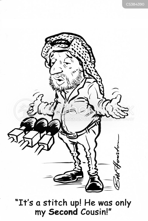 yasser arafat cartoon