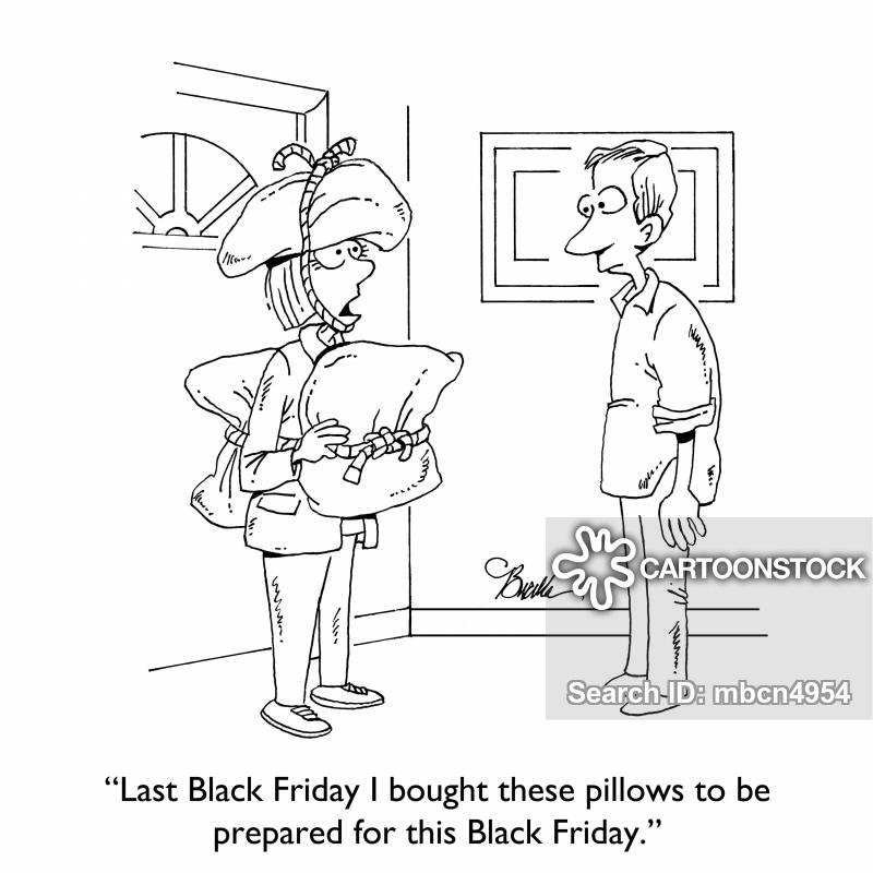 black fridays cartoon