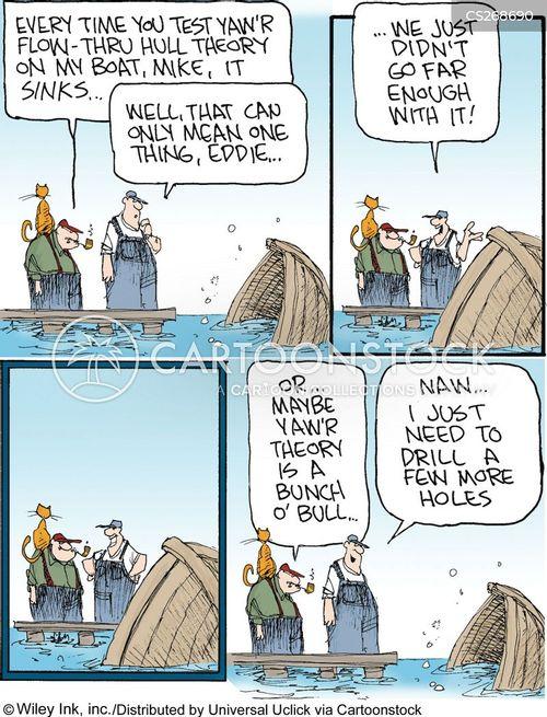 docks cartoon