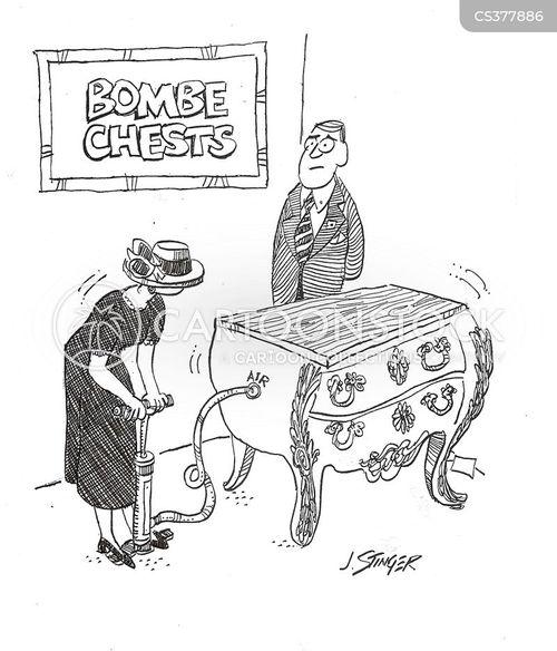 furniture shops cartoon