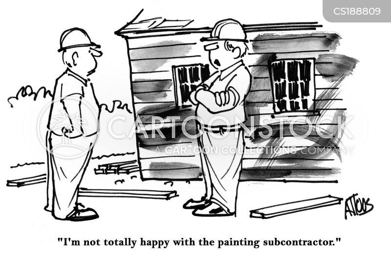 painting job cartoon