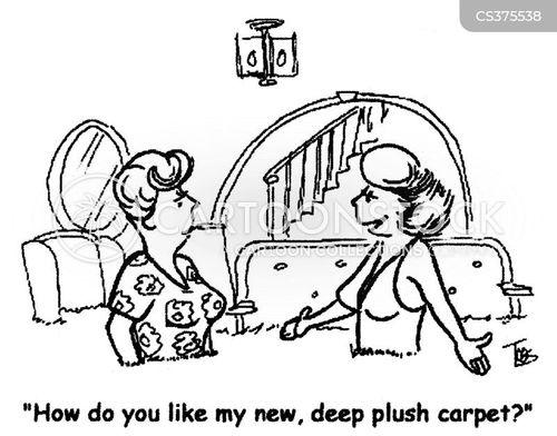 plush carpet cartoon