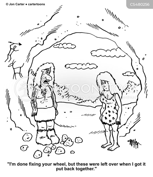 stone wheels cartoon