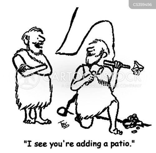 patios cartoon