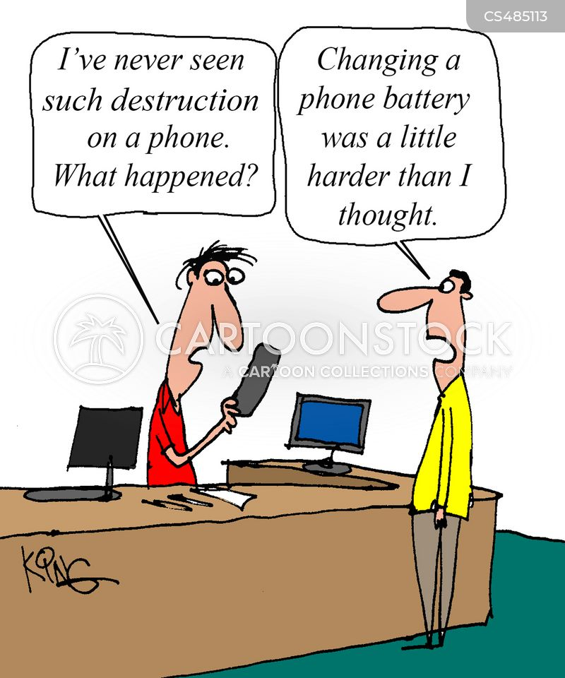 diy repairs cartoon