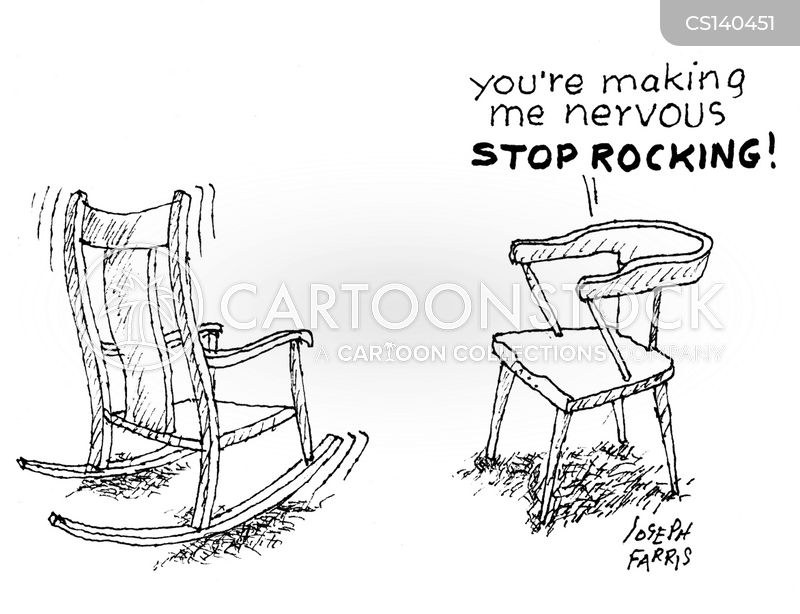 rocking chairs cartoon