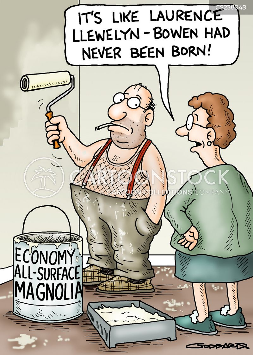 unexciting cartoon