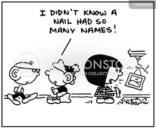 name callers cartoon