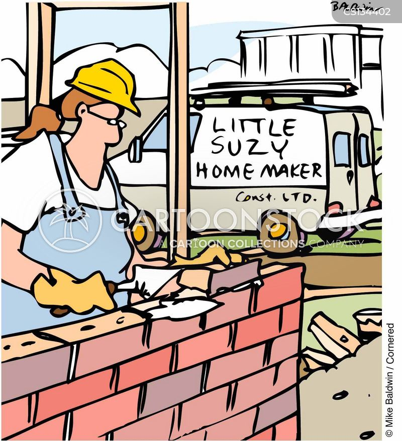 home maker cartoon