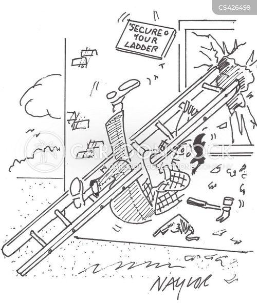 d.i.y. disasters cartoon