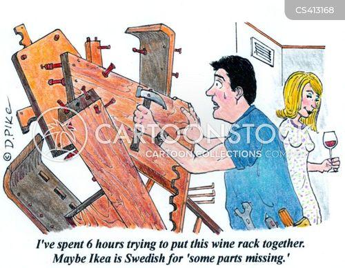 d.i.y. skills cartoon