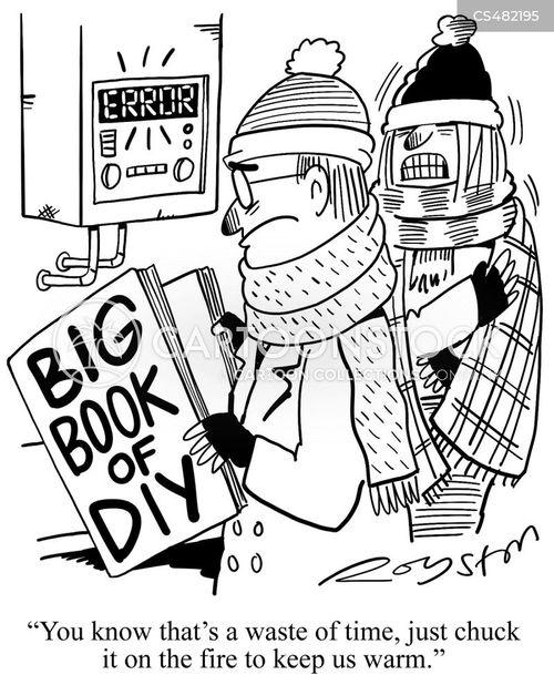 boilers cartoon