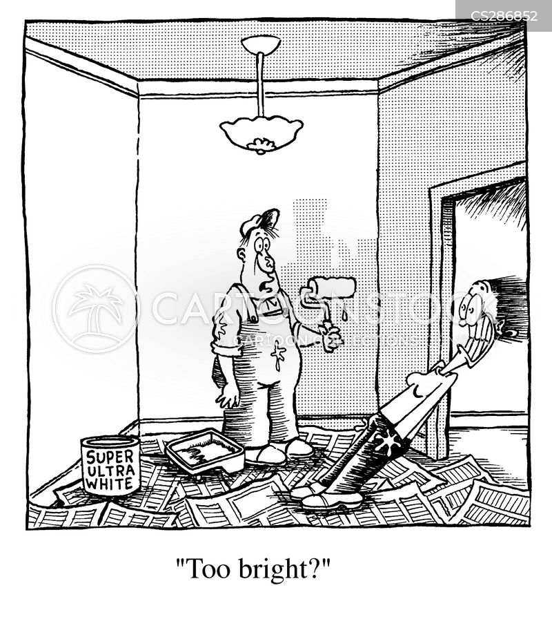 painter and decorators cartoon
