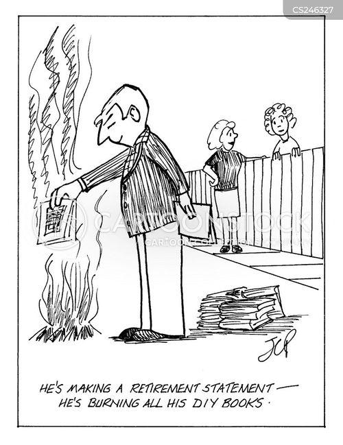 diy book cartoon