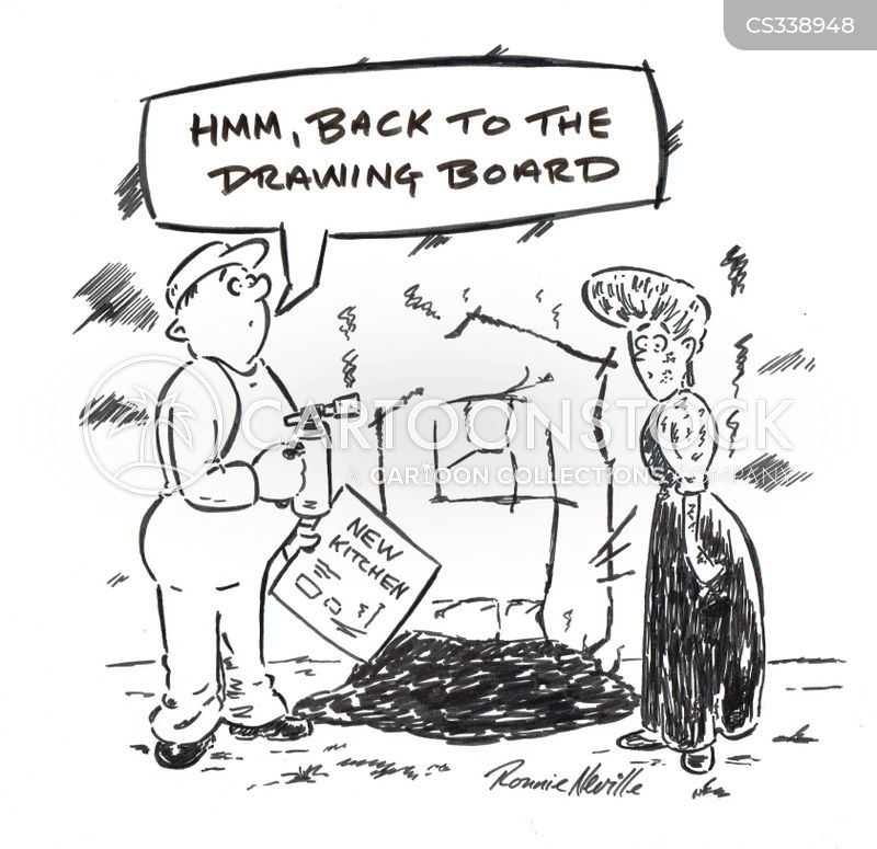 building disasters cartoon