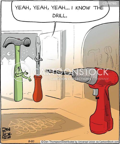 house work cartoon