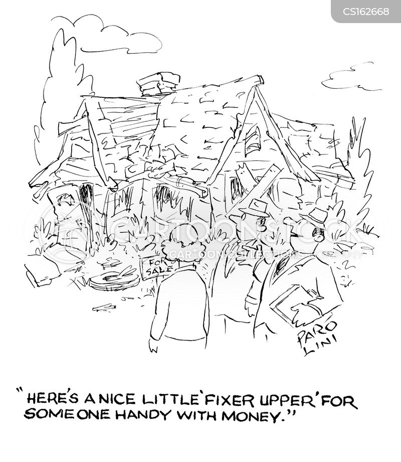 fixer upper cartoon