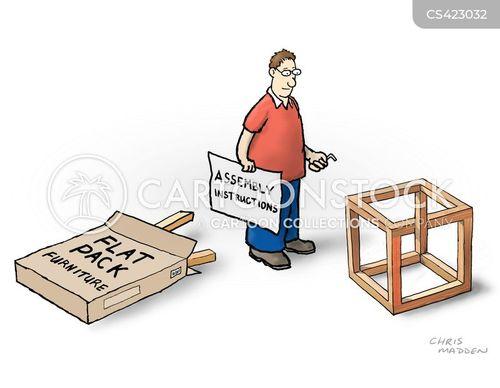 flat-packs cartoon