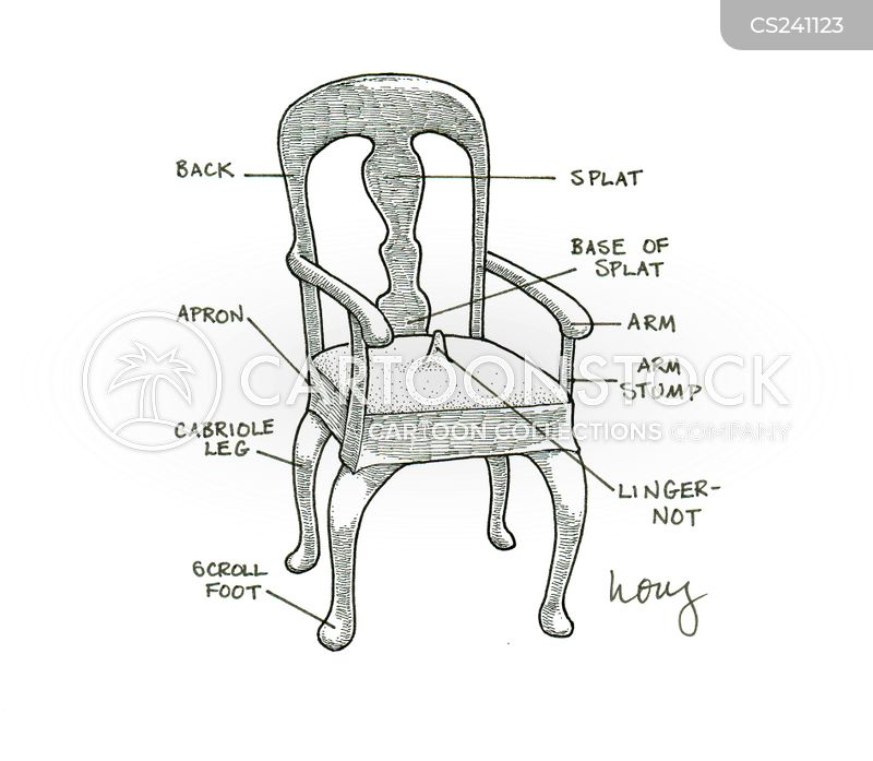 chair designs cartoon