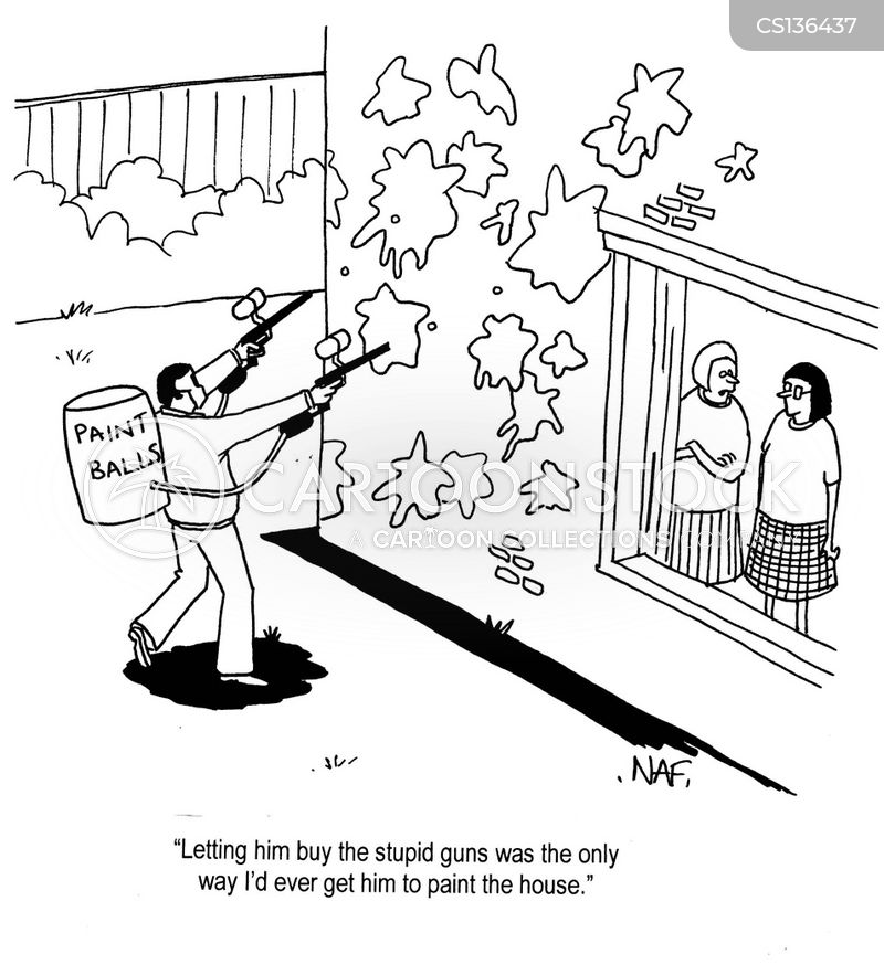 home repair cartoon
