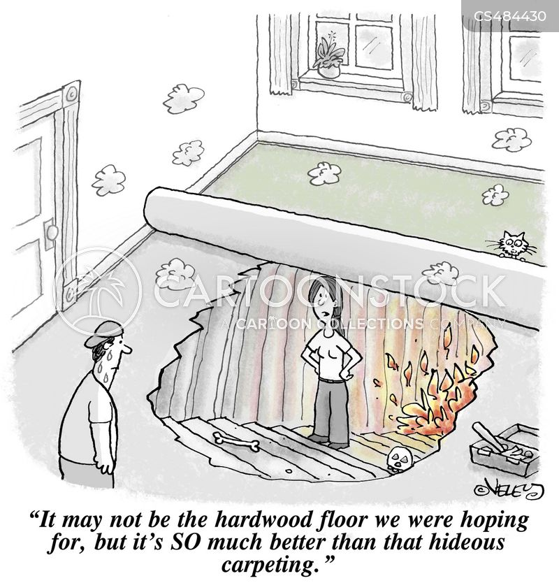 hardwood floors cartoon