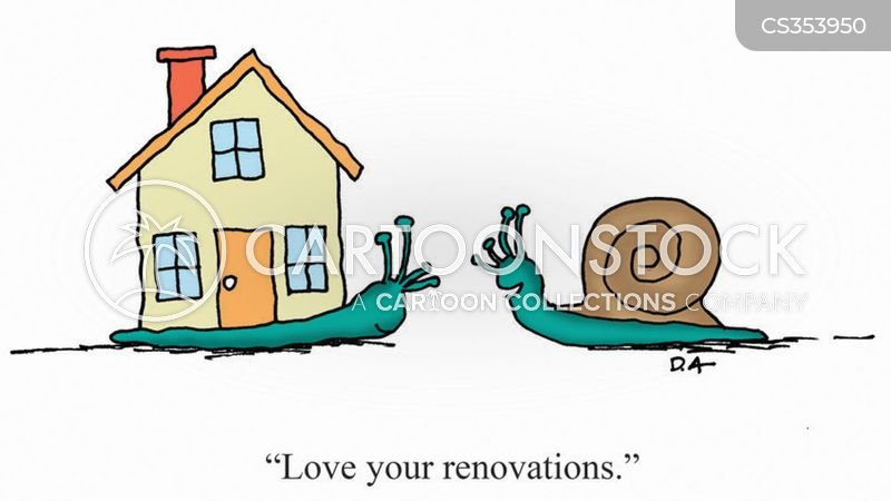 Home renovation cartoons and comics funny pictures from for Home construction quotes
