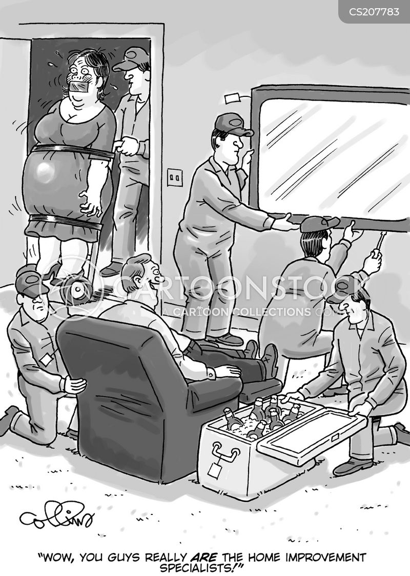 home cinema cartoon