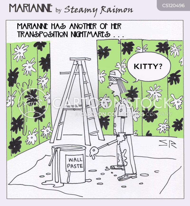 re-decorates cartoon