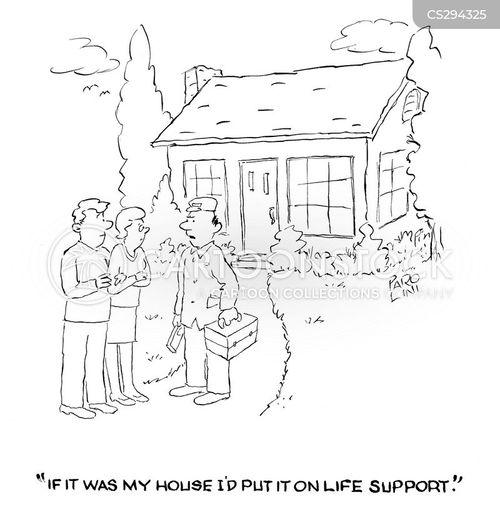 life-support cartoon
