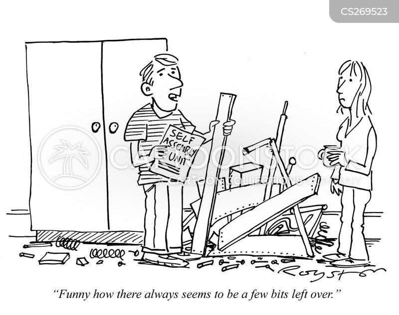 Self Assemble Furniture self-assembly cartoons and comics - funny pictures from cartoonstock