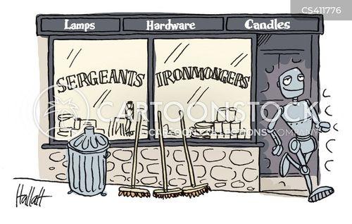 ironmongers cartoon