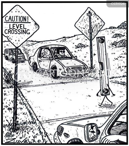 crossings cartoon