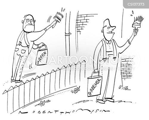 out door cartoon