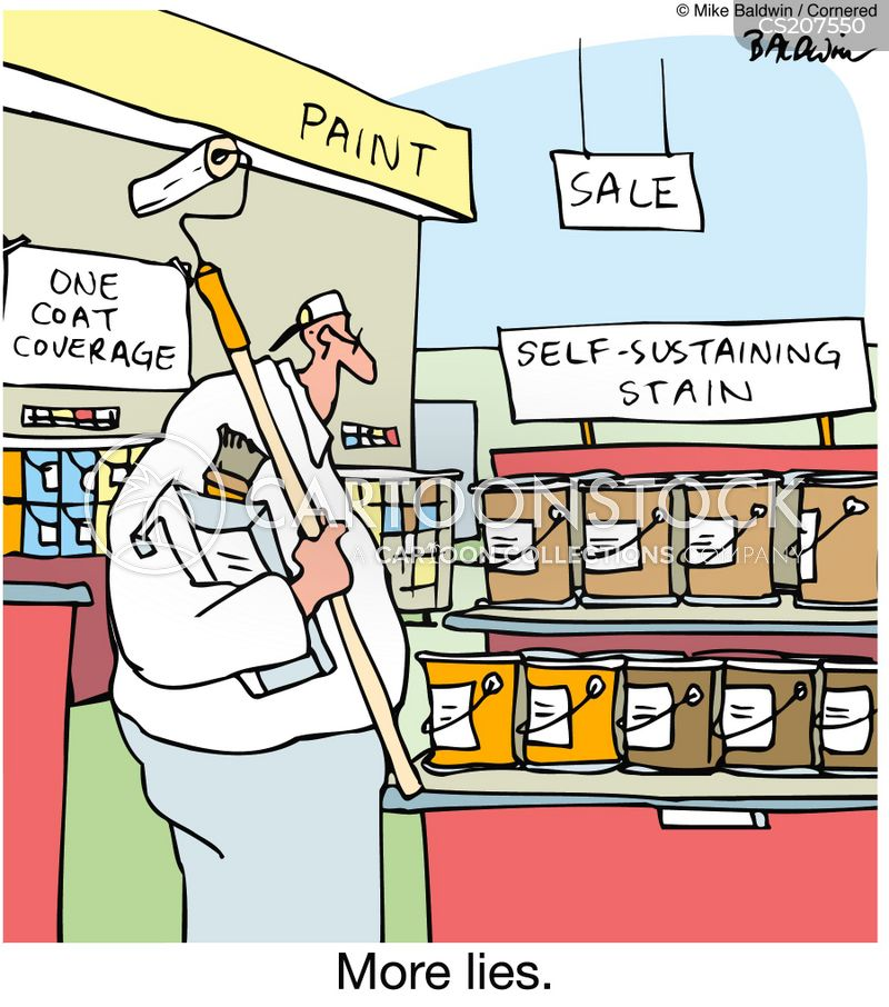 painting decorating cartoon