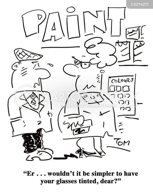 henpecked husband cartoon