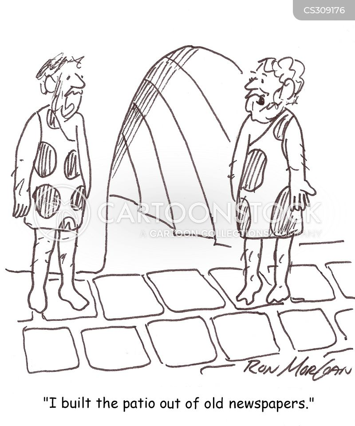 patio cartoon