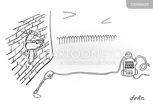 cleaning jobs cartoon