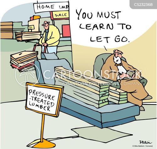 building supplies cartoon