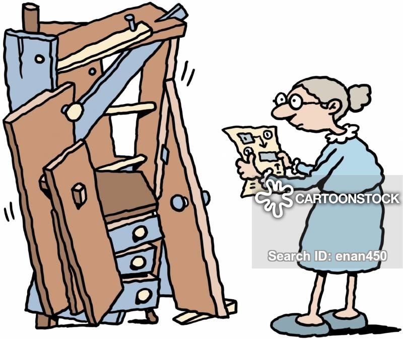 Self Assemble Furniture flat pack cartoons and comics - funny pictures from cartoonstock