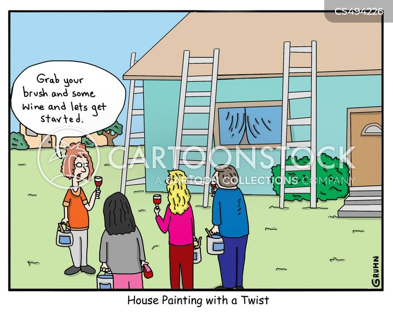 house-painters cartoon