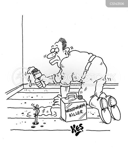floorboards cartoon
