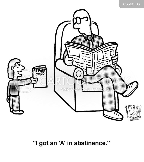 abstaining cartoon
