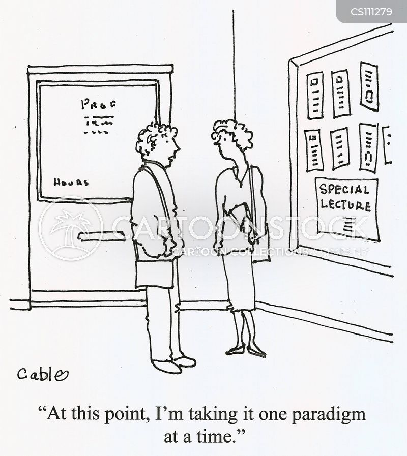 paradigms cartoon