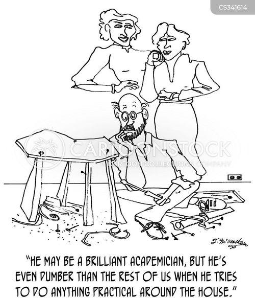 institution cartoon