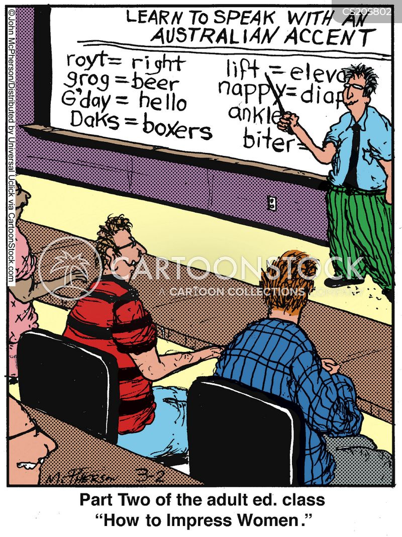 adult education cartoon