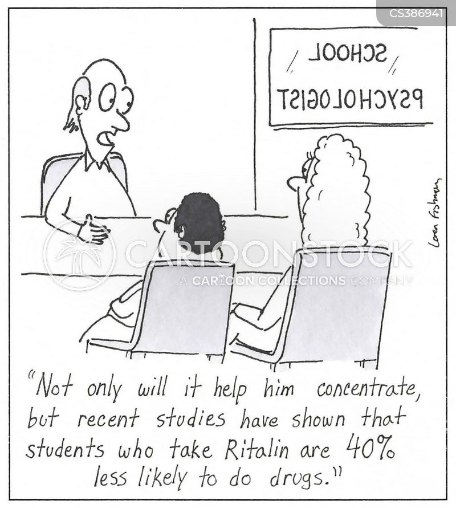 medicating cartoon