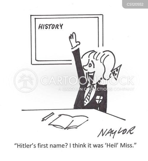 german history cartoon