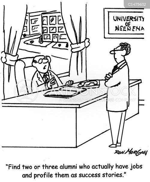alumnus cartoon